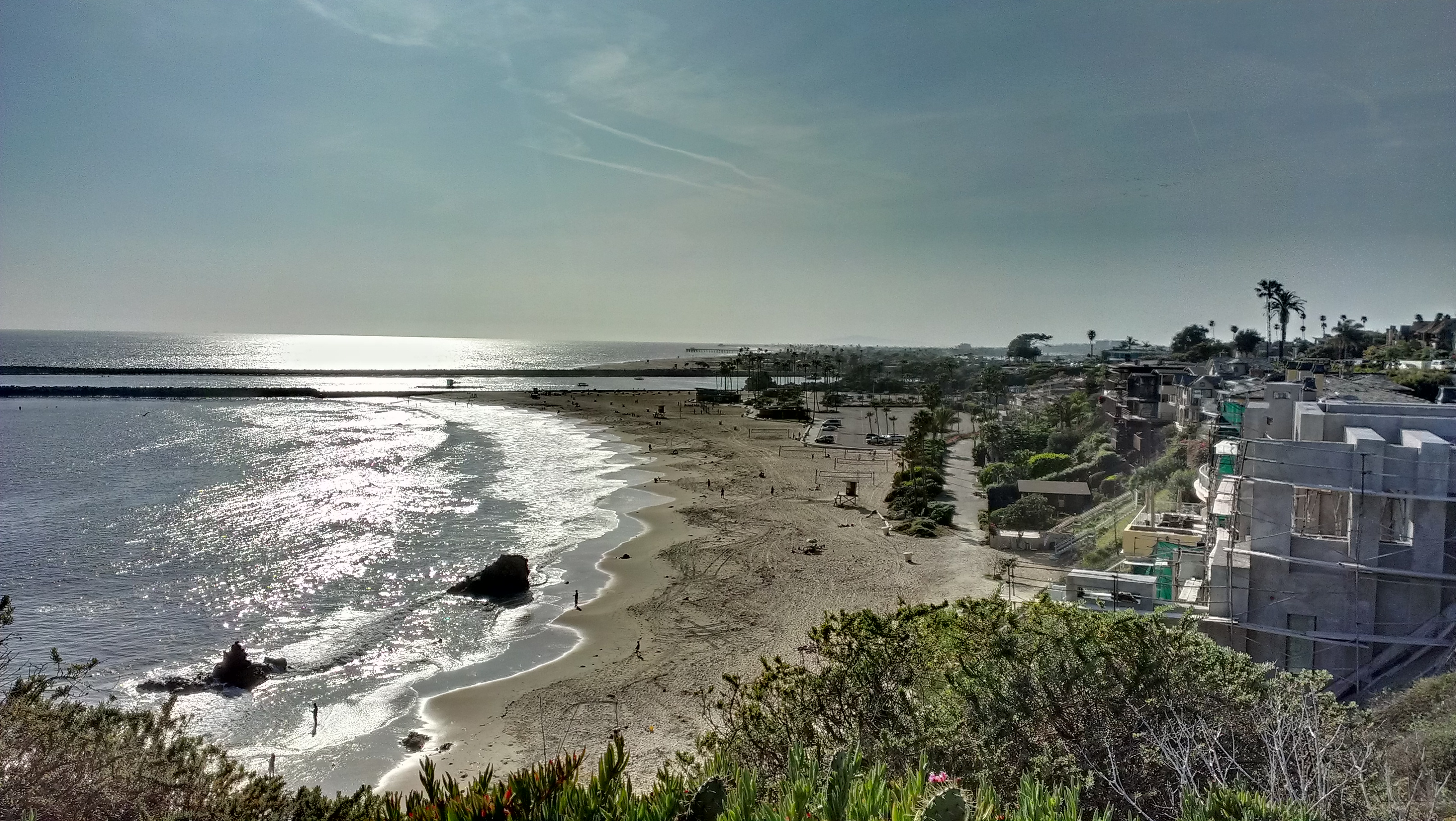 HDR image of Newport Beach